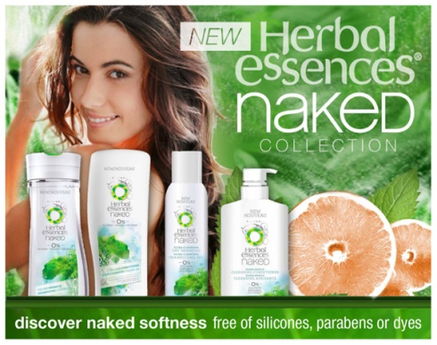 The Herbal Essences Naked Collection