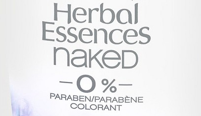 No Parabens! No Dyes!