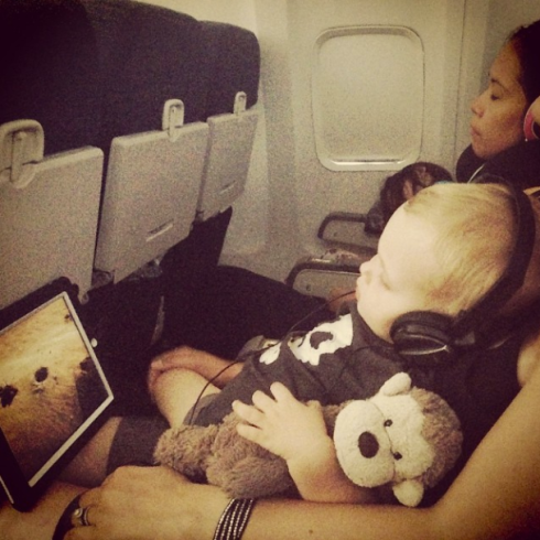 Turtle Tales, Monkey, headphones and my Babe.
